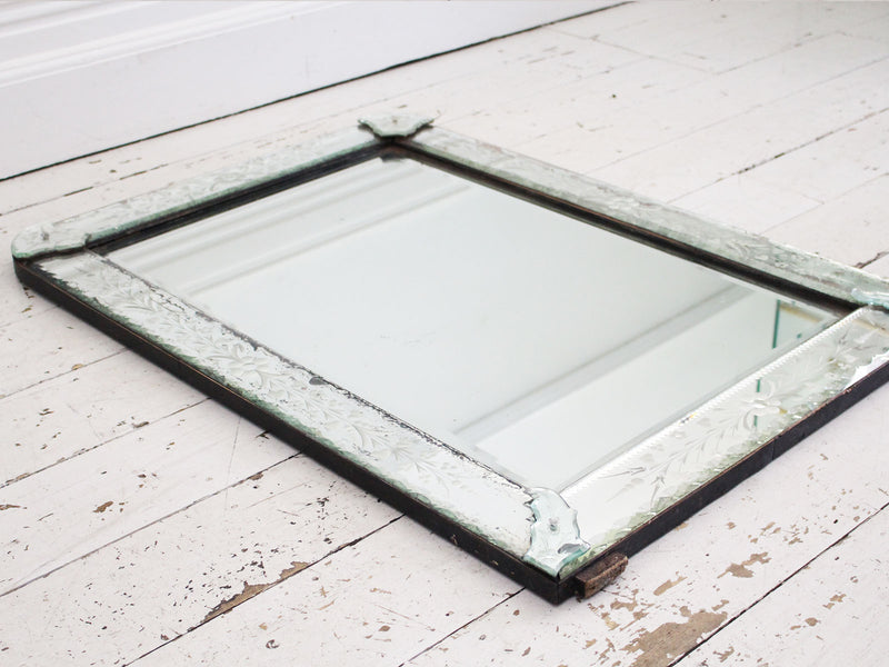 A 1930's Venetian Etched Mirror