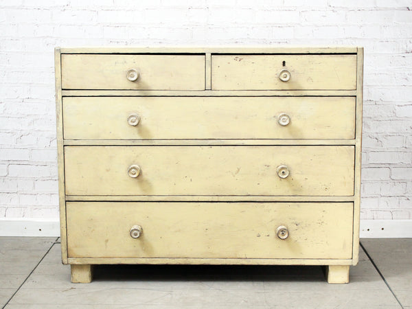 A 19th Century English Painted Chest of Drawers