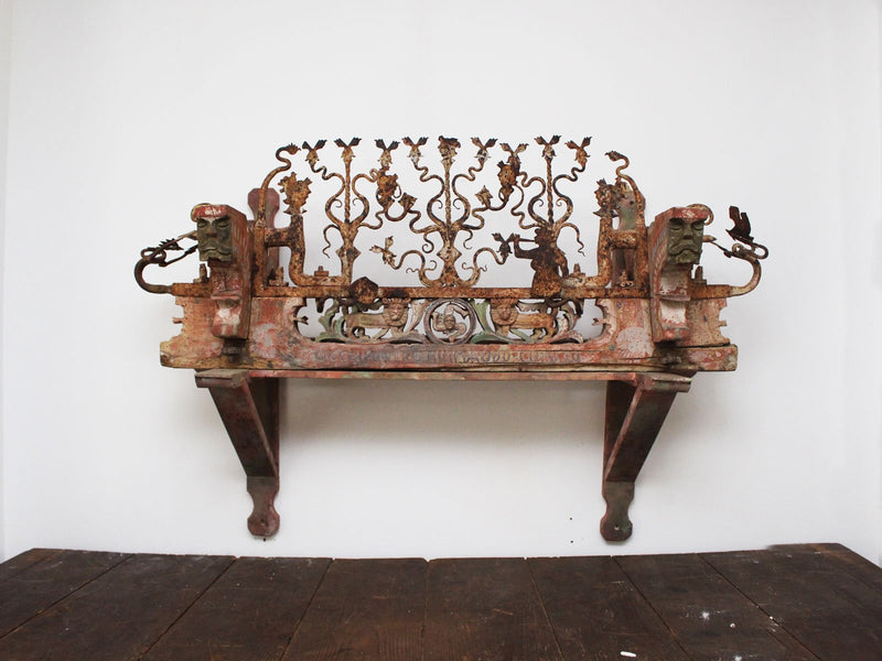 An Early 19th Century Sicilian Decorative Cart Adornment