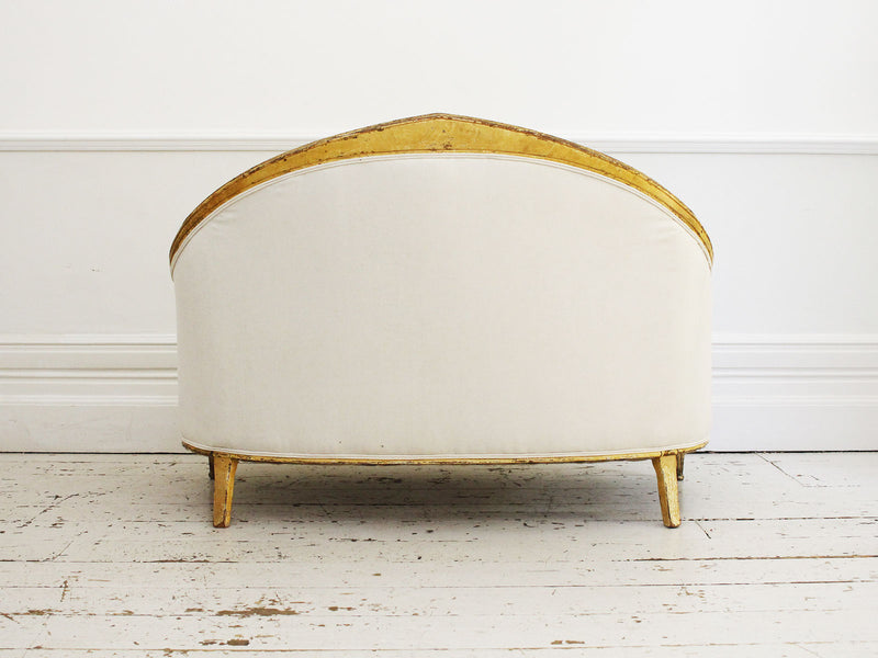 An Early 19th Century Curved French Sofa