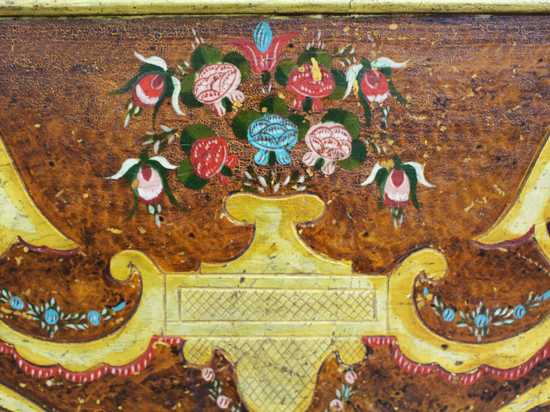 A 19th Century Spanish Gilded Hall Bench