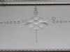 1940s Etched French Deco Mirrored Tray with Aluminium Handles