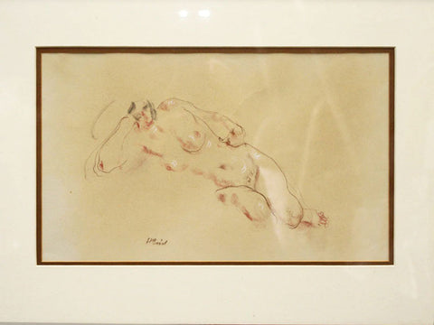 Nude Drawing Entitled 'Pauline' by Henry Bird