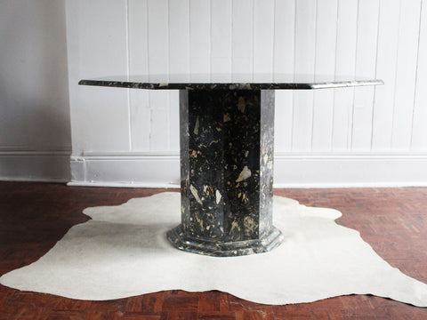 A Pair of 1950's French Glass Nesting Side Tables