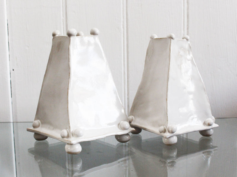 Kate Monckton Ball Ceramics - Pyramid Vases