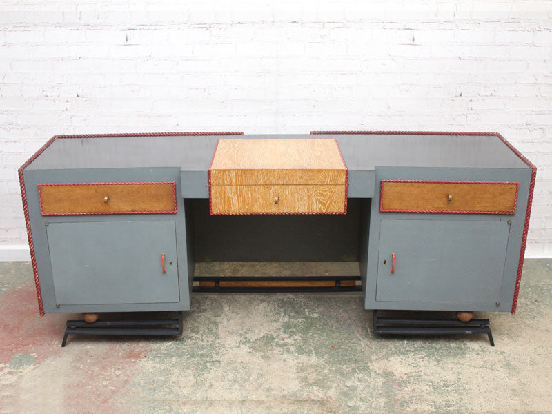 Art Deco Console Desk by Renowned Maison Kreiger