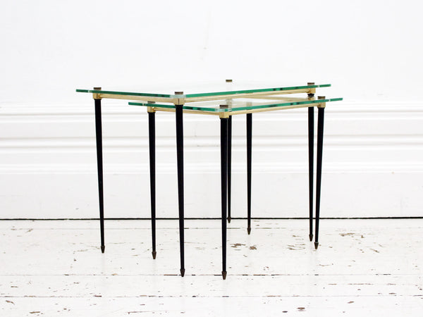 Glass Coffee Table Nest 2