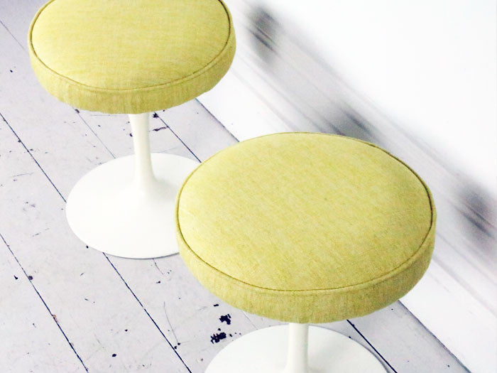 A pair of 1970's Knoll stools