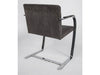 Six Brno Chrome Flat Bar Armchairs By Ludwig Mies Van Der Rohe For Fasem