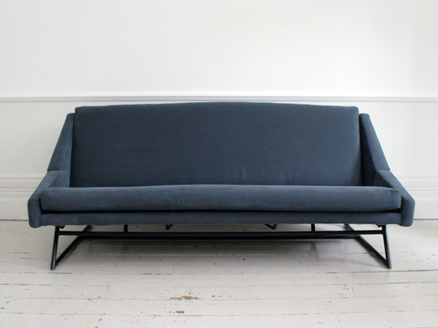 A Rare Mid Century 1960's Louis Paolozzi Sofa Bed