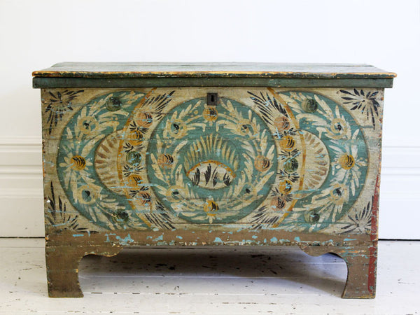 A 19th Century Painted Provençal Blanket Chest