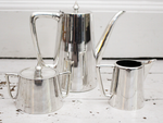 1930's Deco Silver Plated Coffee Set