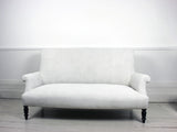 French Scroll Backed Napoleon III Sofa