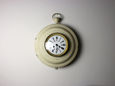 A French 1920's Railway Wall Clock by Garnier