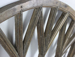 Large Oak Elliptical French Window Arches