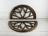 Oak Medium Elliptical Window Arches