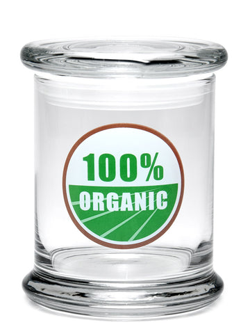 Large Pop-Top Jar by 420 Science (Various Designs)