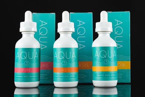 Aqua 60mL by Marina Vape (Various Flavors)