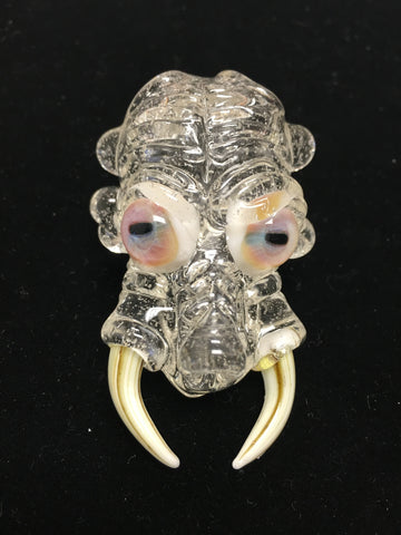 Lucy Monster Head Pendant by ShuhBuh