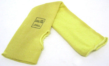 "18"" Yellow Kevlar Sleeve W/ Thumb Hole"