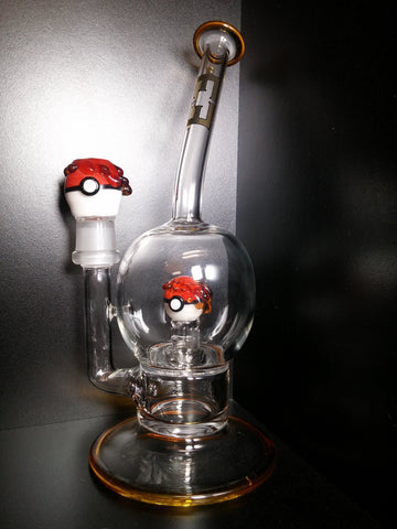 Pokemon Bubble Tube by Empire Glass
