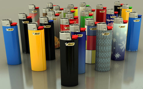 BiC Lighter (Various Colors and Sizes)
