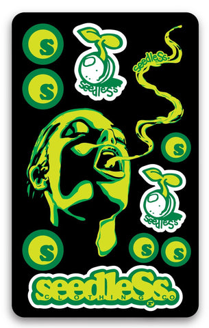 Green Girl Stixcard by Seedless