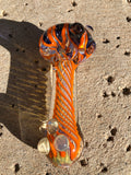 Dichro Flower Head Spoons by J&C Glass