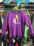 Crewneck Movement Purple by Grassroots