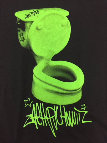 Whoopzip Zach P TOILET slyme green