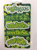 Big Logo Mix Stixcard by Seedless