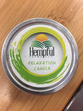 Relaxation Candle & Massage Oil by Hempful Farms