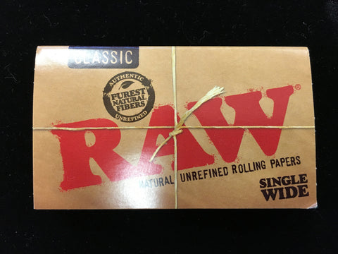 RAW Rolling Papers (Various Sizes)