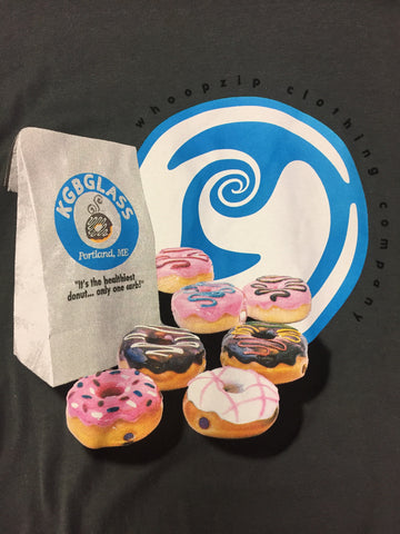 """It's the healthiest Donut..."" T-Shirt by KGB & Whoopzip"
