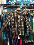 Men's Brown Flannel by Grassroots