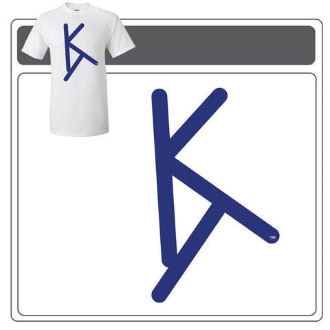 Blue KT Logo Shirts by Kindtray