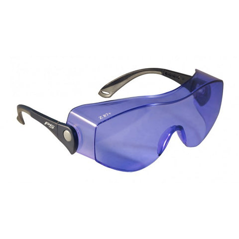 Model OTG Fitover Glassworking Safety Glasses - Polycarbonate Sodium Flare,