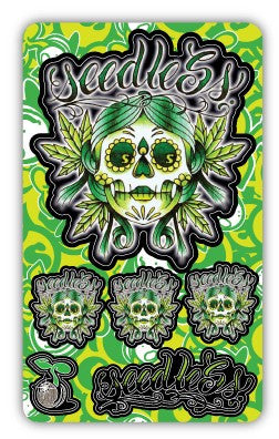 Muerte Jane Stixcard by Seedless