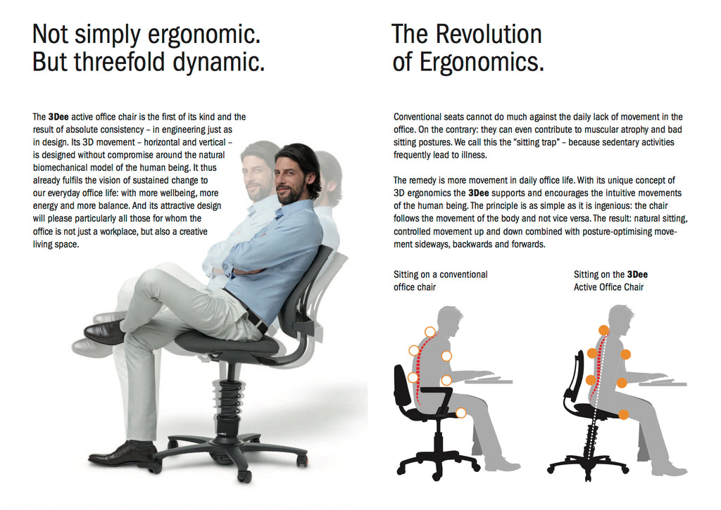 3DEE Ergonomic Office Chair