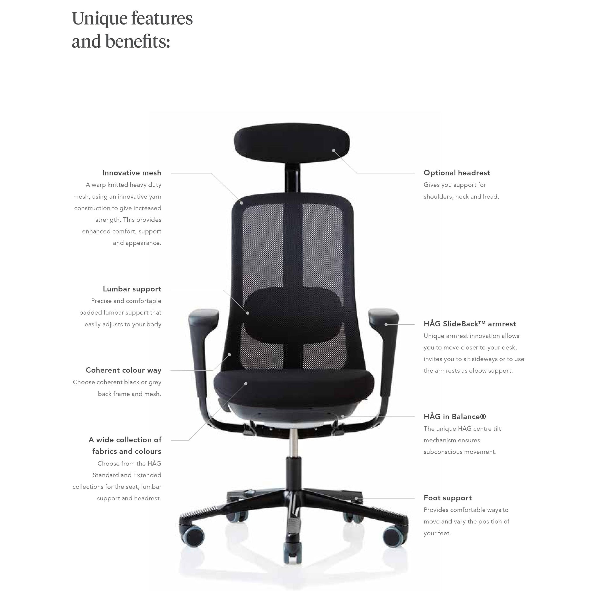 HAG SoFi Office Task Chair Overview