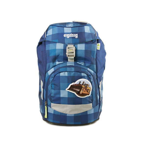 ergobag Prime Check Blue ergonomic school bag ergokid Singapore