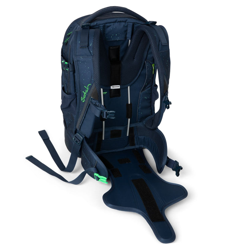 Satch Pack Blue Compass - ergokid Singapore