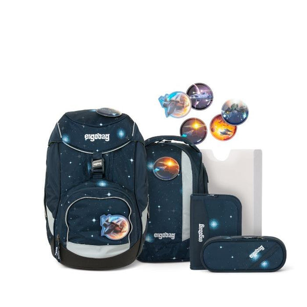 ergobag Pack School Bag 6-piece Set AtmosBear Glow Edition - ergokid Singapore