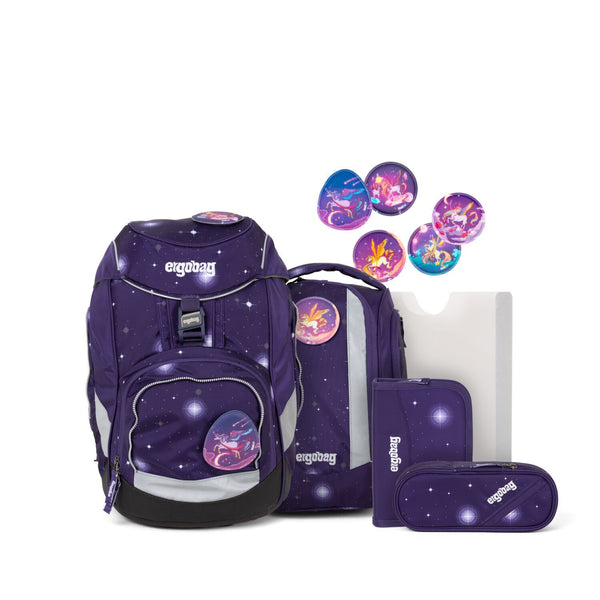 ergobag Pack School Bag 6-piece Set Beargasus Glow Edition - ergokid Singapore