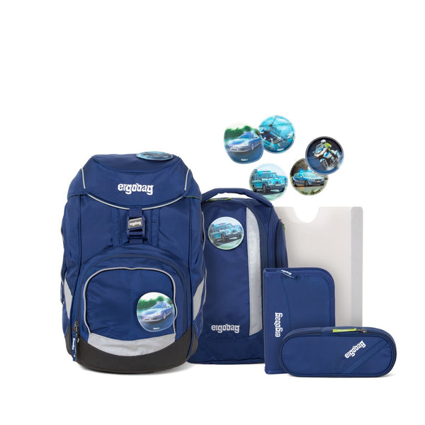 ergobag Pack School Bag 6-piece Set InspectBear - ergokid Singapore
