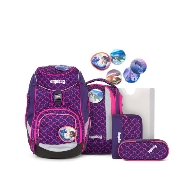 ergobag Pack School Bag 6-piece Set PearlDiveBear - ergokid Singapore