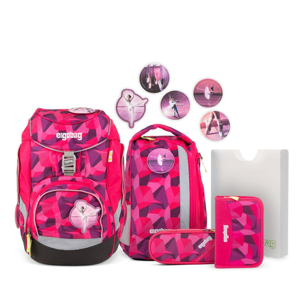 ergobag Pack School Bag 6-piece Set PrimBear Ballerina - ergokid Singapore