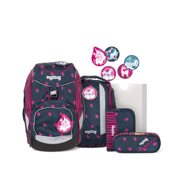 ergobag Pack School Bag 6-piece Set Shoobi DooBear - ergokid Singapore