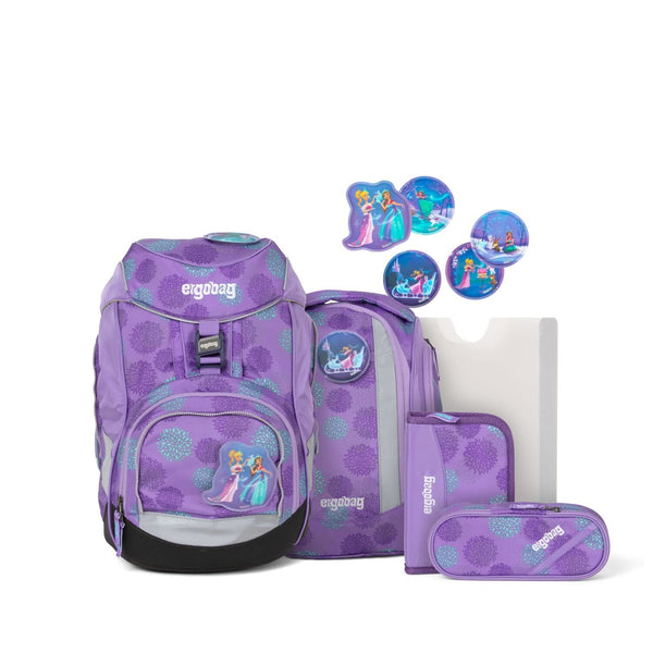 ergobag Pack School Bag 6-piece Set SleighBear Glow Edition - ergokid Singapore