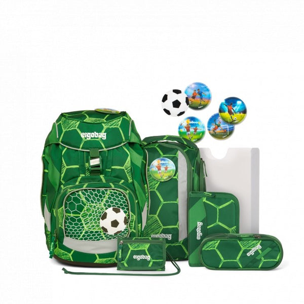 ergobag Pack School Bag 6-piece Set StrikeBear - ergokid Singapore